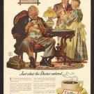 Vintage Pan American Coffee Ad Art Print 32x24