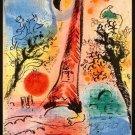 Marc Chagall Fine Art Poster Print 32x24