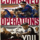 Wwii Combined Operations War Propoganda Poster Art Print 32x24