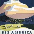 Vintage Montana America Wpa Poster Art Print 32x24