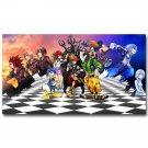 Kingdom Hearts 3 Game Art Poster Print 32x24