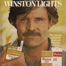 Vintage Winston Cigarette Smoking Ad Art Print 32x24