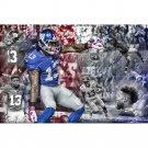 Odell Beckham JR NFL Football Sport Poster Print 32x24