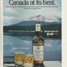 Vintage Canadian Mist Whiskey Ad Art Print 32x24