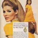 Vintage Max Factor Makefup Ad Art Print 32x24