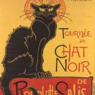 Th Ophile Steinlen S Chat Noire Poster Print 32x24