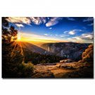 Arches Canyon Lands National Park Aar Poster Nature Sunset 32x24