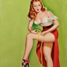 Peter Driben PIN UP Girl Art Print 32x24
