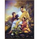 Jesus Christ Art Poster Pictures 32x24