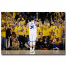 Stephen Curry NO 30 Golden State Warriors Basketball Poster 32x24