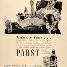 Vintage Pabst Beer Ad Art Print 32x24