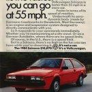 Volkswagen Scirroco Car Ad Art Print 32x24