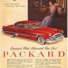 Vintage Packard Car Ad Art Print 32x24