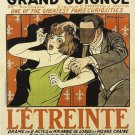 Vintage French Theatre Poster Print 32x24