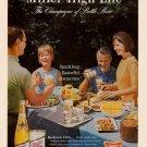 Vintage Miller High Life Beer Ad Art Print 32x24