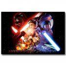 Lego Movie Star Wars VII Force Awakens Poster 32x24