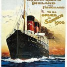 Vintage Ireland Travel Poster Print 32x24