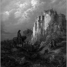 Gustave Dore Idylls Of The King Fine Art Print 32x24