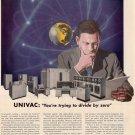 Vintage Univac Ad Art Print 32x24