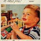 Vintage 7 Up Ad Art Print 32x24