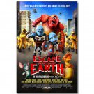 Escape From Planet Earth Cartoon Movie Poster 32x24