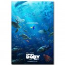 Finding Dory Cartoon Fish Movie Poster 32x24