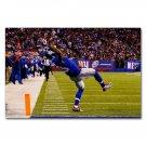 Odell Beckham Jr One Hand Catch Football Sports Poster 32x24