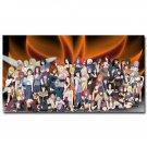 Naruto Shippuden Characters Anime Game Poster Wall Decor 32x24