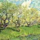 Van Gogh Orchard In Blossom 2 Print 32x24