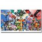 Pocket Monster Pikachu Anime Poster Print Es Pokemon 32x24
