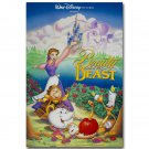 Beauty And The Beast Cartoon Movie Poster 32x24
