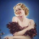 Alberto Vargas PIN UP Girl Art Print 32x24