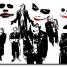 Joker Batman The Dark Knight Rises Joker TDK Movie Poster 32x24