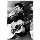 Elvis Presley The Hillbilly Cat Poster Black White 32x24