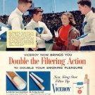 Vintage Viceroy Cigarette Smoking Ad Art Print 32x24