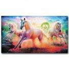 Pegasus Unicorn Rainbow Horse Poster Home Decor 32x24