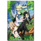 Sword Art Online 2 Characters Japanese Anime Poster 32x24