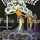 Vintage French Follies Bergere Poster Print 32x24