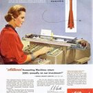 Vintage National Accounting Machine Ad Art Print 32x24