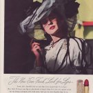 Vintage Chen Yu Lipstick Fashion Ad Art Print 32x24