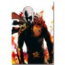 One Punch Man Anime Poster Print Saitama Genos 32x24