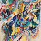 Wassily Kandinsky Fine Art Poster Print 32x24