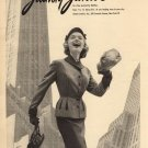 Vintage Jaunty Junior Fashion Ad Art Print 32x24