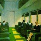 Edward Hopper Chair Car Fine Art Print 32x24