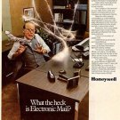 Vintage Honeywell Email Ad Art Print 32x24