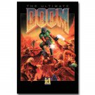 The Ultimate DOOM Vintage Game Art Poster Print 32x24