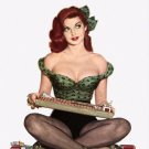 Al Moore PIN UP Girl Art Print 32x24