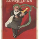 French Union Sommeliers Vintage Poster Print 32x24