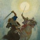N C Wyeth Legends Of Charlemagne Fine Art Print 32x24