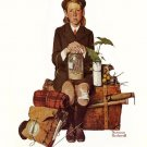Norman Rockwell Home From Camp Fine Art Print 32x24